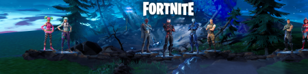 FORTNITE season 4 with logo
