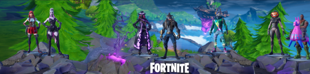 FORTNITE season 6 with logo