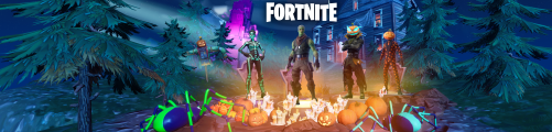 FORTNITE season 6.1 holloween with logo