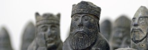 Old Chess Figures