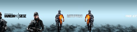Rainbow six / Battlefield 3 / The crew