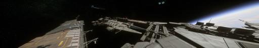 Javelin Destroyer starboard bow